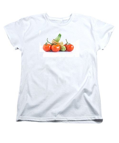 Diet Ingredients Women's T-Shirt (Standard Cut) by Antonio Scarpi