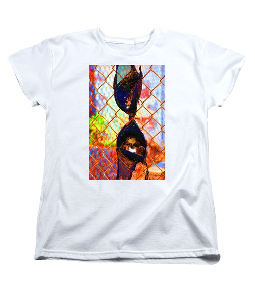 Women's T-Shirt (Standard Cut) featuring the photograph Dirty Laundry by Christiane Hellner-OBrien