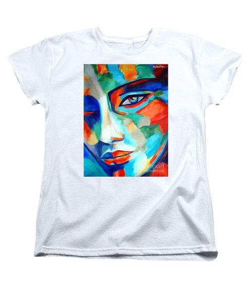 Divine Consciousness Women's T-Shirt (Standard Cut) by Helena Wierzbicki