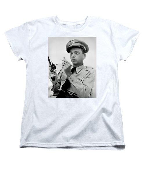Barney Fife - Don Knotts Women's T-Shirt (Standard Cut)