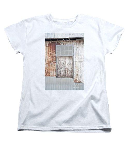 Women's T-Shirt (Standard Cut) featuring the photograph Door 2 by Minnie Lippiatt
