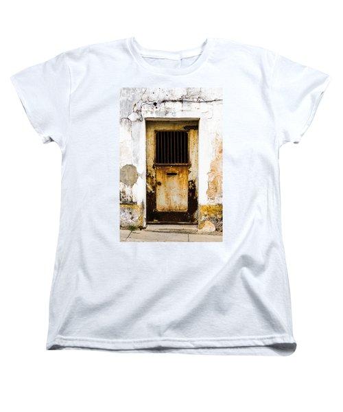 Door No 48 Women's T-Shirt (Standard Cut) by Marco Oliveira