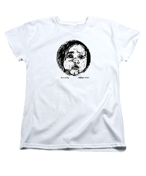 Women's T-Shirt (Standard Cut) featuring the relief Dorothy by Seth Weaver