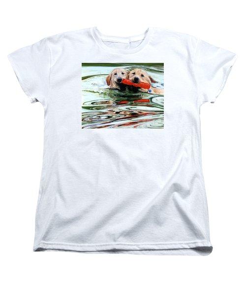 Doublemint Women's T-Shirt (Standard Cut) by Molly Poole