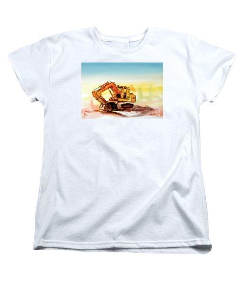 Dozer October Women's T-Shirt (Standard Cut) by Kip DeVore
