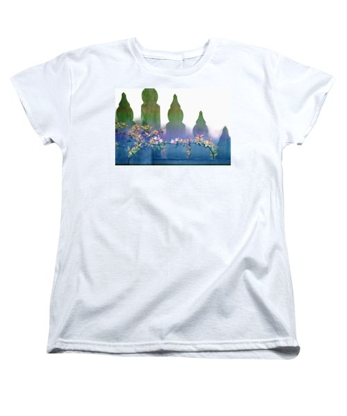 Dreams Of A Picket Fence Women's T-Shirt (Standard Cut) by Holly Kempe