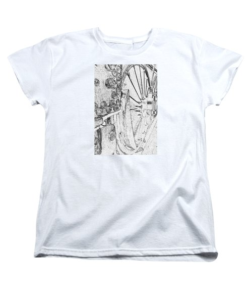 Drive Wheels Dm  Women's T-Shirt (Standard Cut) by Daniel Thompson