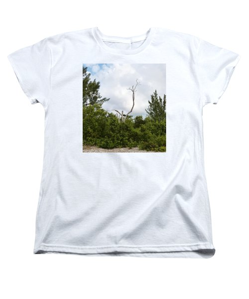 Women's T-Shirt (Standard Cut) featuring the photograph Druid Dance by Amar Sheow