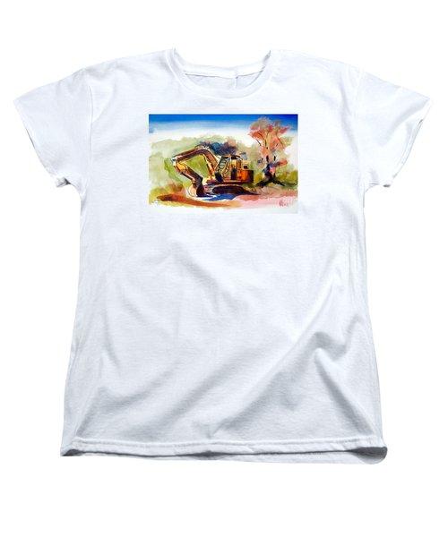 Duty Dozer II Women's T-Shirt (Standard Cut) by Kip DeVore