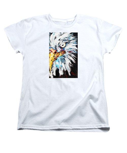 Eagle Women's T-Shirt (Standard Cut) by Patricia Olson