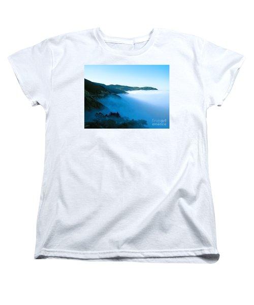Early Morning Coastline Women's T-Shirt (Standard Cut) by Ellen Cotton