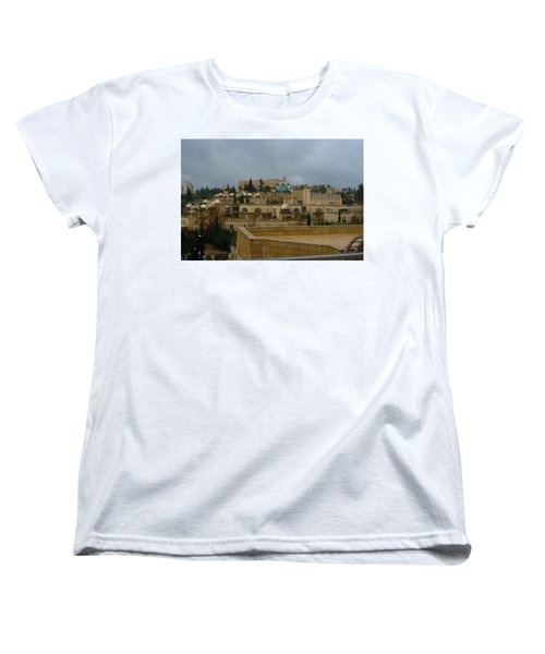 Women's T-Shirt (Standard Cut) featuring the photograph Early Morning In Jerusalem by Doc Braham