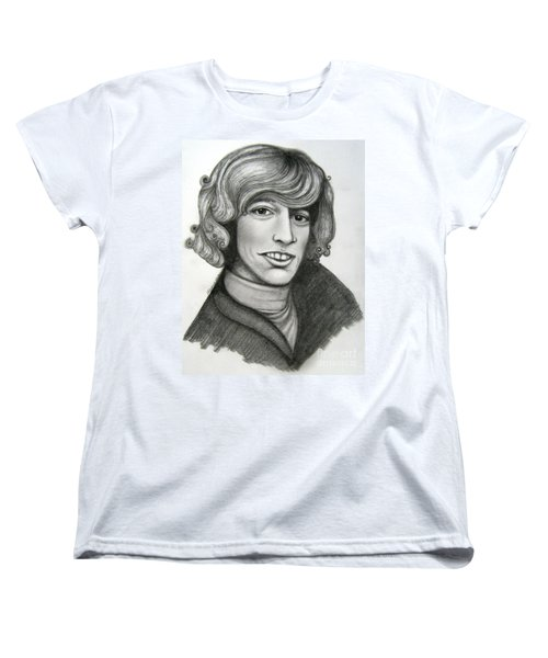 Robin Gibb Women's T-Shirt (Standard Cut) by Patrice Torrillo