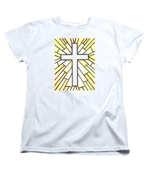 Easter Cross 3 Women's T-Shirt (Standard Cut) by Jim Harris