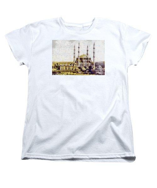 Edirne Turkey Old Town Women's T-Shirt (Standard Cut) by Georgi Dimitrov