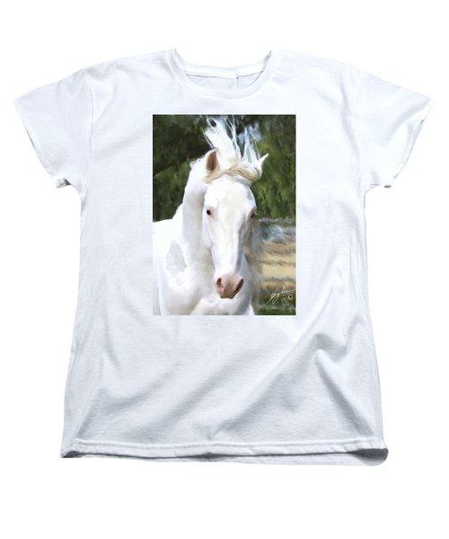El Padrone Women's T-Shirt (Standard Cut) by Melinda Hughes-Berland