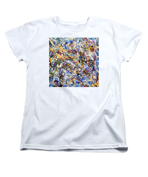 Women's T-Shirt (Standard Cut) featuring the painting Eldorado by Dominic Piperata