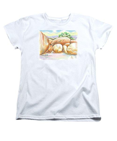 Elephant Rocks State Park II  No C103 Women's T-Shirt (Standard Cut)