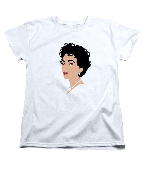 Elizabeth Women's T-Shirt (Standard Cut) by Douglas Simonson