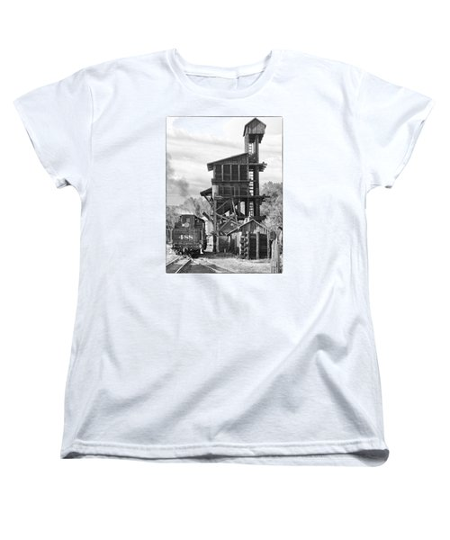 Engine 488 At The Tipple Women's T-Shirt (Standard Cut) by Shelly Gunderson