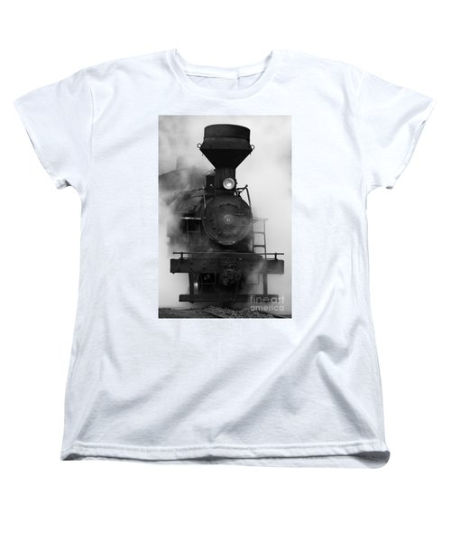 Engine No. 6 Women's T-Shirt (Standard Cut) by Jerry Fornarotto