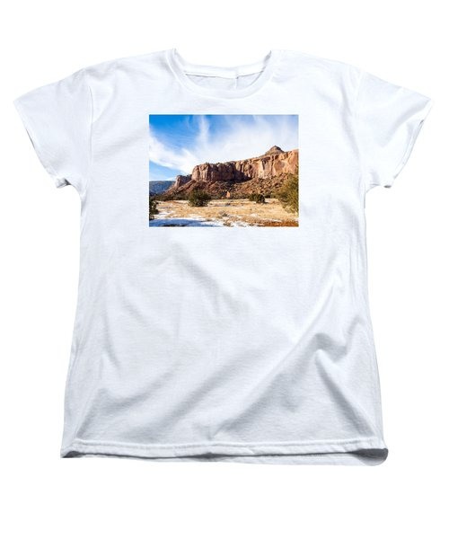 Escalante Canyon Women's T-Shirt (Standard Cut) by Nadja Rider