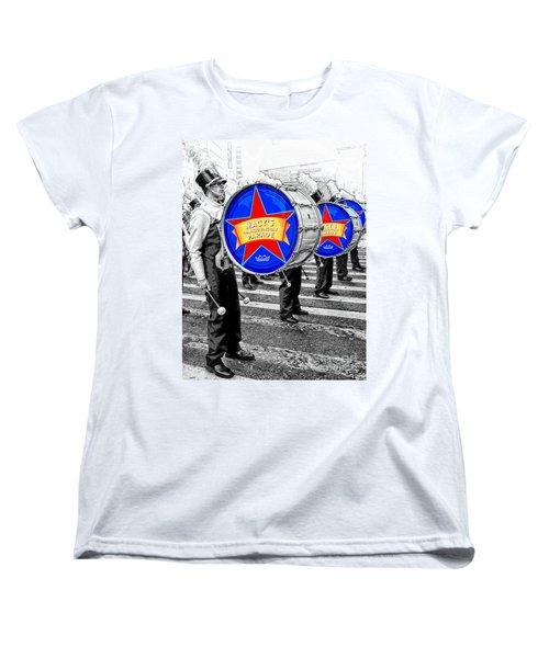 Everyone Loves A Parade Women's T-Shirt (Standard Cut) by Lilliana Mendez