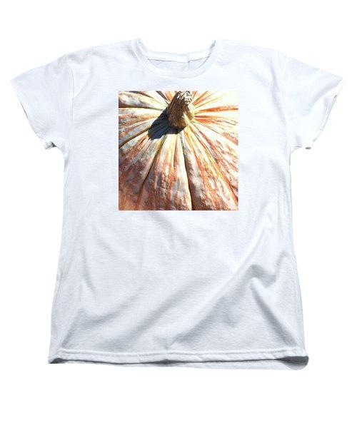 Fairy Tale Pumpkin Women's T-Shirt (Standard Cut) by Denyse Duhaime