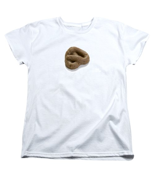 Women's T-Shirt (Standard Cut) featuring the photograph Fake Dog Poop by Lee Avison