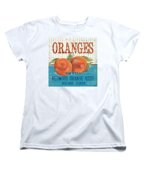 Farm Fresh Fruit 2 Women's T-Shirt (Standard Cut) by Debbie DeWitt
