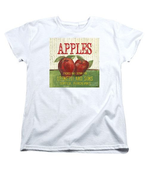 Farm Fresh Fruit 3 Women's T-Shirt (Standard Cut) by Debbie DeWitt