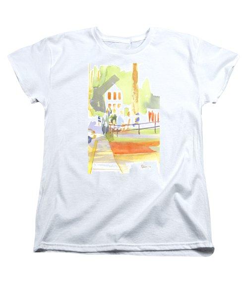 Farmers Market II  Women's T-Shirt (Standard Cut) by Kip DeVore