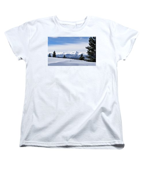 February Wind Women's T-Shirt (Standard Cut) by Jeremy Rhoades