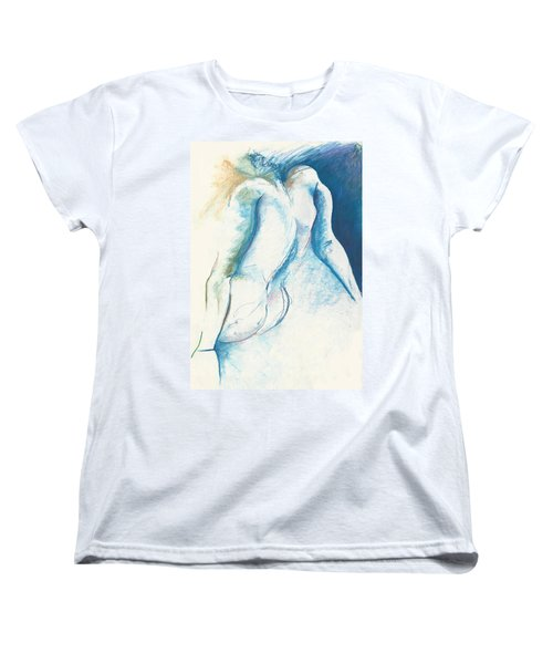 Figurative Abstract Women's T-Shirt (Standard Cut) by Melinda Dare Benfield