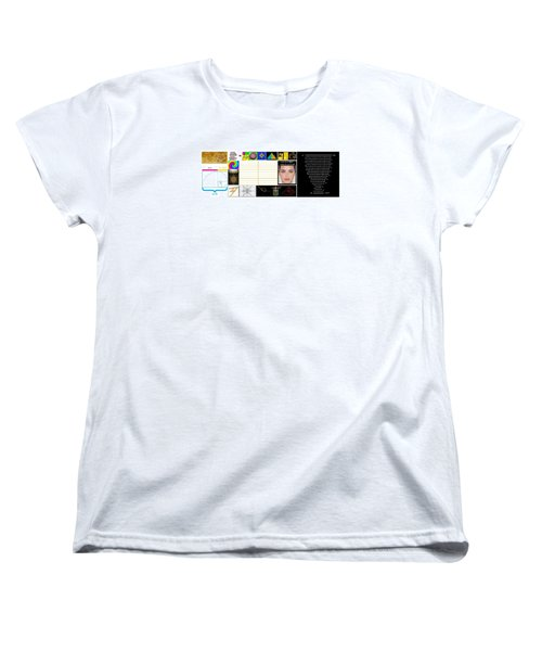 Finding Phi Women's T-Shirt (Standard Cut) by Peter Hedding