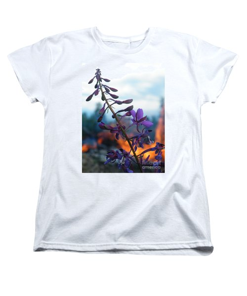Fireweed Number Five Women's T-Shirt (Standard Cut) by Brian Boyle