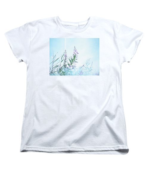 Fireweed Number Two Women's T-Shirt (Standard Cut) by Brian Boyle