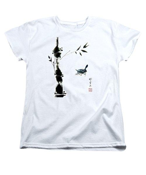 First Reflection Women's T-Shirt (Standard Cut) by Bill Searle