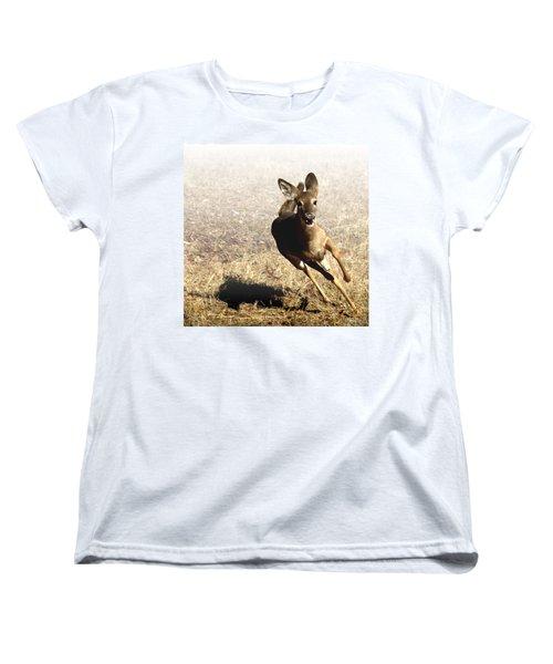 Flee Women's T-Shirt (Standard Cut) by Bill Stephens
