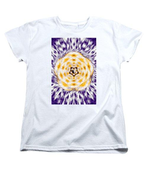 Women's T-Shirt (Standard Cut) featuring the drawing Flowering Emotion by Derek Gedney