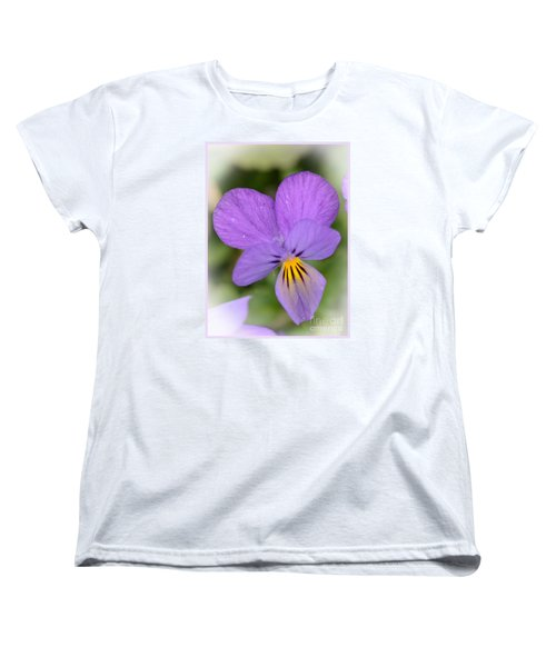 Women's T-Shirt (Standard Cut) featuring the photograph Flowers That Smile by Kerri Farley