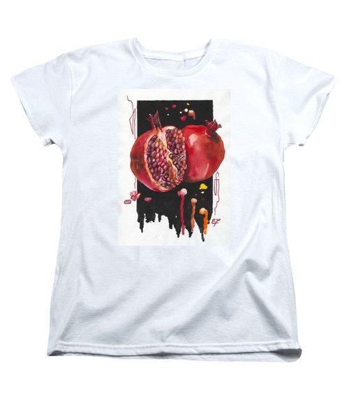 Fluidity 8 - Elena Yakubovich Women's T-Shirt (Standard Cut) by Elena Yakubovich