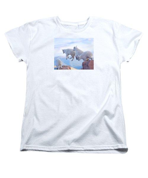 Follow The Leader Women's T-Shirt (Standard Cut) by Jim Garrison