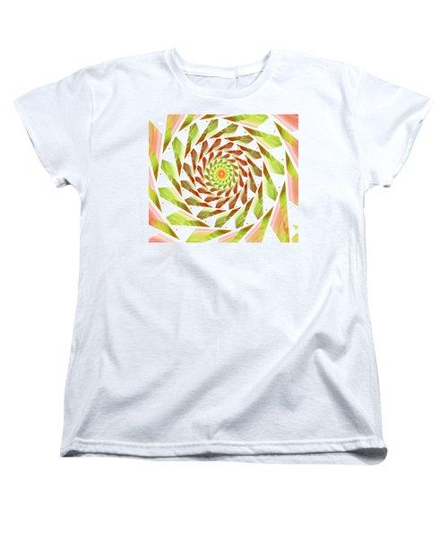 Women's T-Shirt (Standard Cut) featuring the digital art Abstract Swirls  by Ester  Rogers