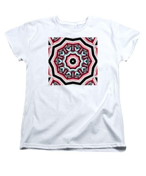 Food Mixer Mandala Women's T-Shirt (Standard Cut) by Andy Prendy