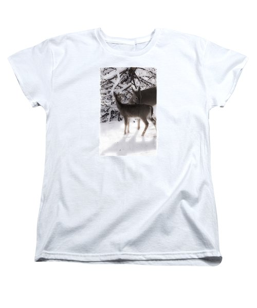 Women's T-Shirt (Standard Cut) featuring the photograph For The Love by Janie Johnson
