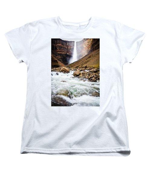 Force Of Nature Women's T-Shirt (Standard Cut) by Peta Thames