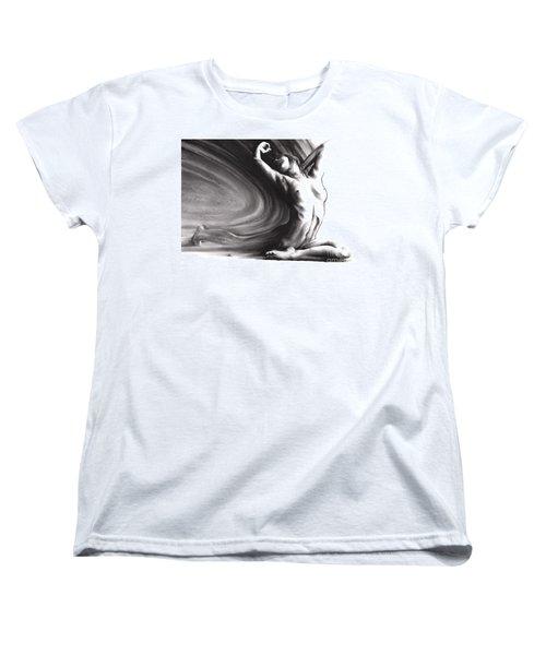 Fount Iv Women's T-Shirt (Standard Cut) by Paul Davenport