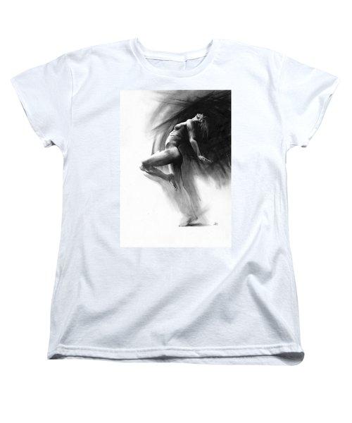 Fount Women's T-Shirt (Standard Cut) by Paul Davenport