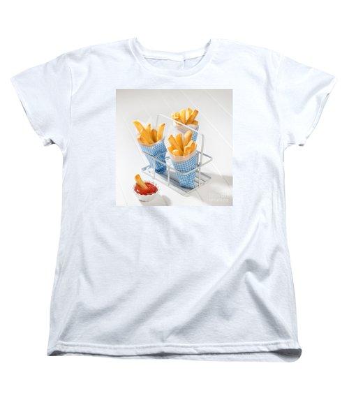 Fries Women's T-Shirt (Standard Cut) by Amanda Elwell
